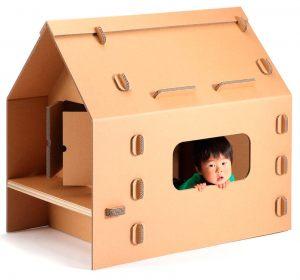 детские игровые домики из картона
