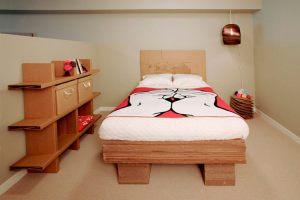 мебель для спальни из картона