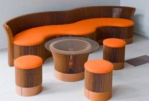 мебель для гостиной из картона