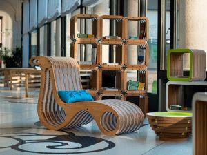 Красивая картонная мебель