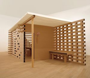 Переговорная комната из картона