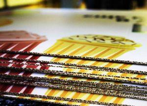 Многоцветная печать на гофрокартоне